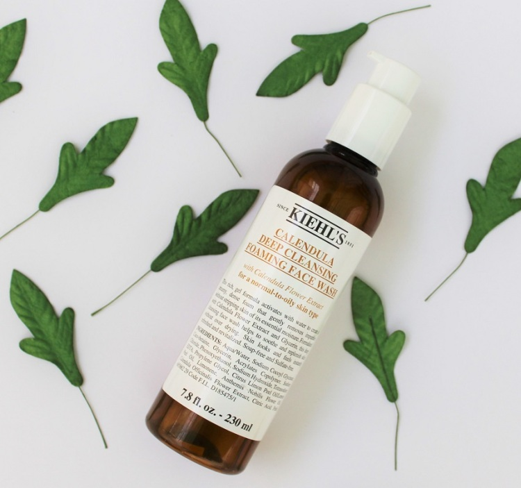 Kiehl_s Calendula Deep Cleansing Foaming Face Wash