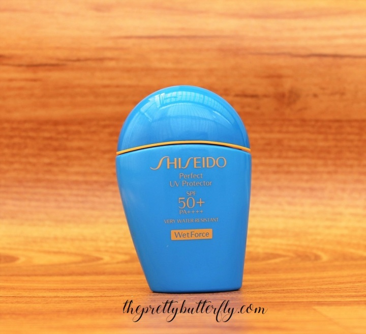 Shiseido Perfect UV Protector SPF50+ PA++++ WetForce (1)