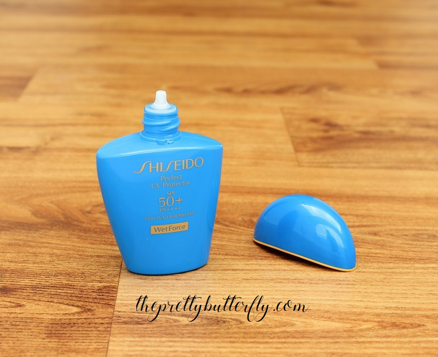 Shiseido Perfect UV Protector SPF50+ PA++++ WetForce (2)
