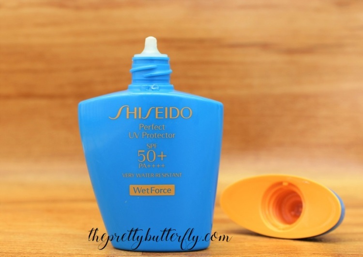 Shiseido Perfect UV Protector SPF50+ PA++++ WetForce