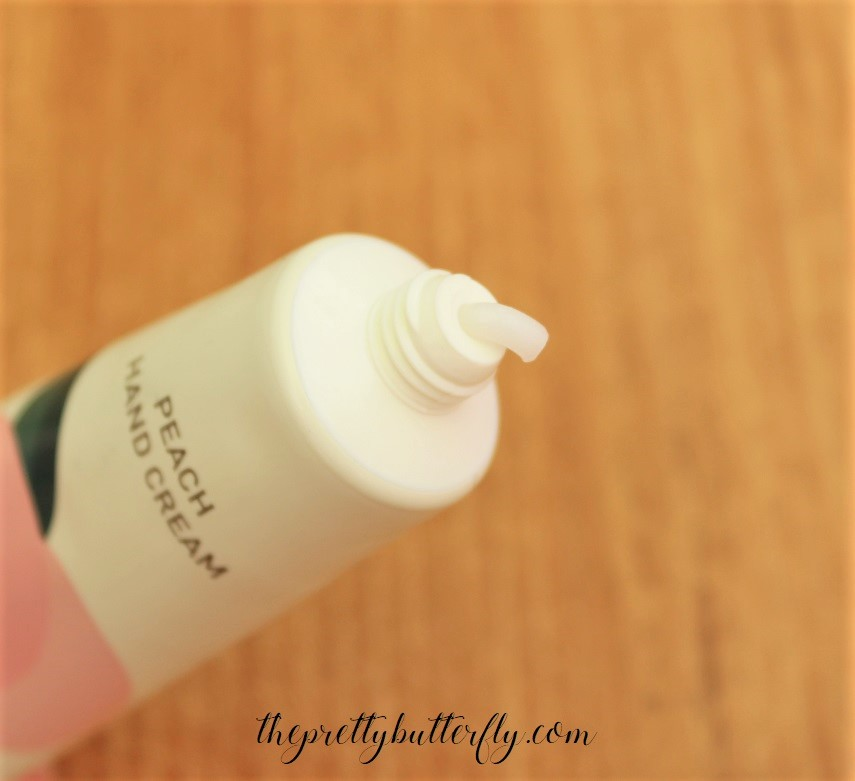 Innisfree Peach Hand Cream (5)