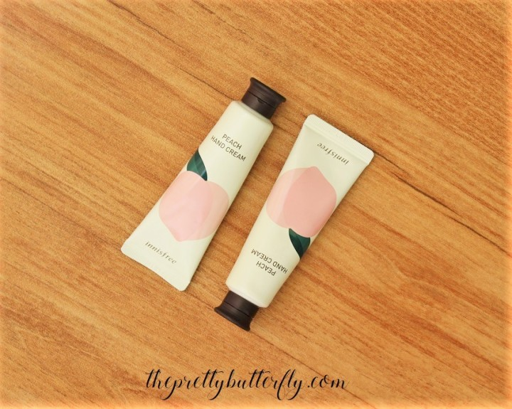 Innisfree Peach Hand Cream