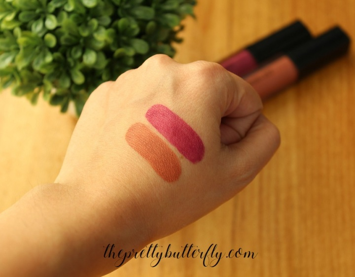 Inglot HD Lip Tint Matte Swatch 15 & 36