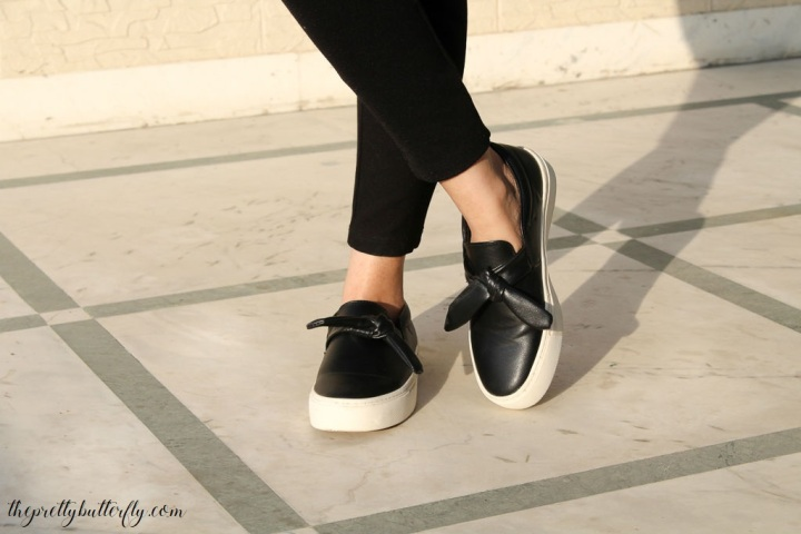 sneakers with bow 1