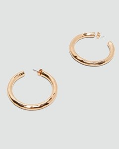 ZARA METAL HOOP EARRINGS (2)