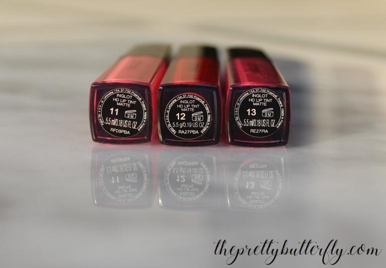 Inglot_s HD Lip Tint Matte 2