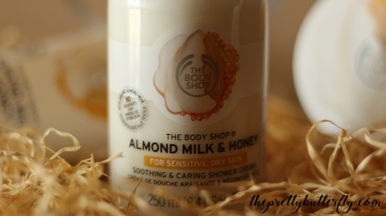 The Body Shop's Almond Milk & Honey 3