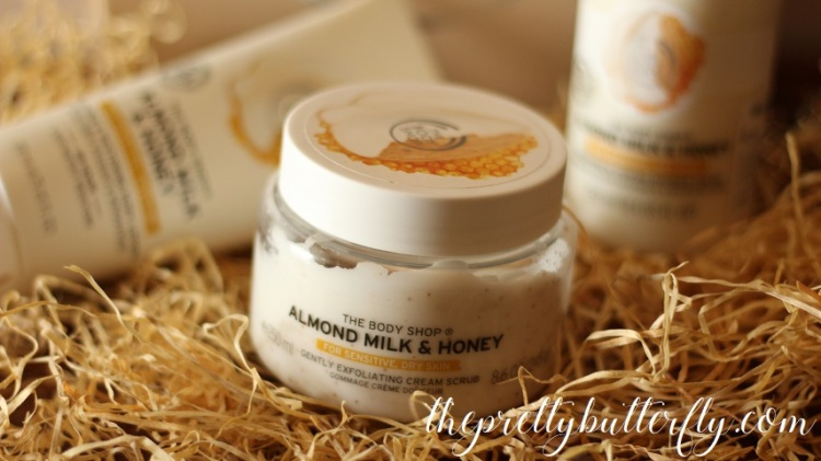 The Body Shop's Almond Milk & Honey 7