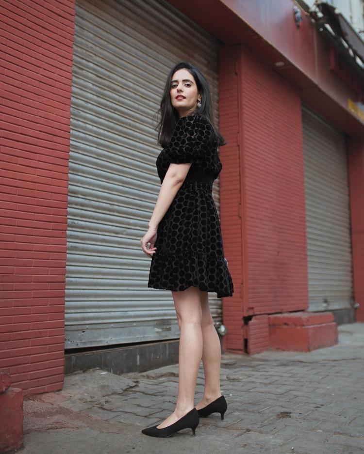 ZARA VELVET DRESS 2