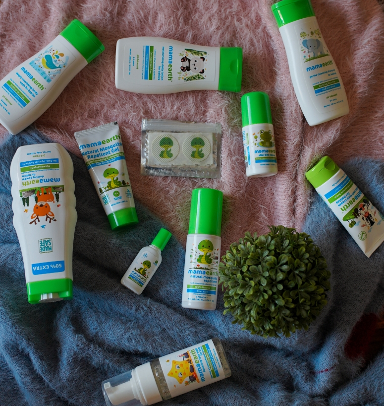 MAMAEARTH SKINCARE PRODUCTS I USED FOR MY BABY 4