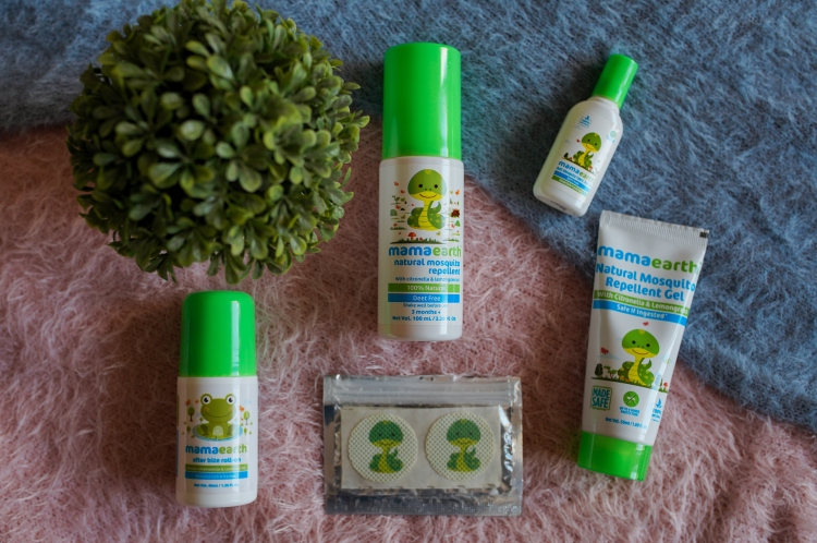 MAMAEARTH SKINCARE PRODUCTS I USED FOR MY BABY 5