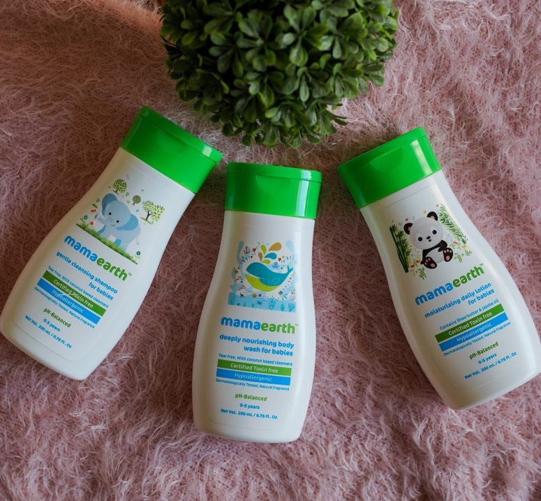 MAMAEARTH SKINCARE PRODUCTS I USED FOR MY BABY 6