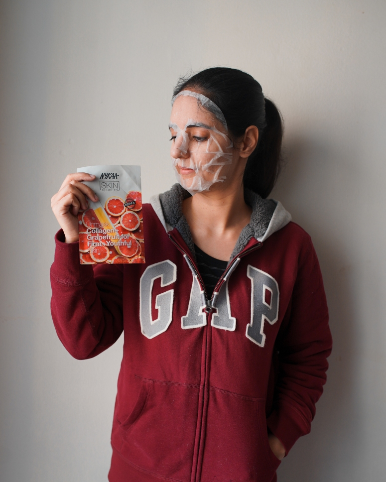 Nykaa Skin Secrets Sheet Mask 2